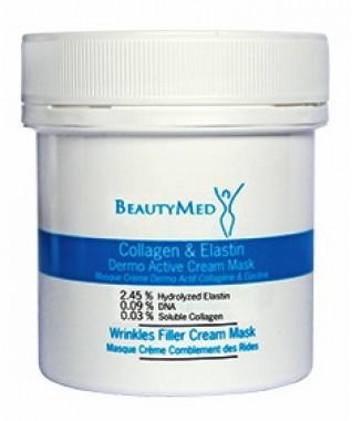 Kolageno ir elastino dermo aktyvi kremas kaukė 100 ml