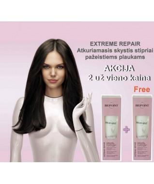 EXTREME REPAIR Atkuriamasis skystis stipriai pažeistiems plaukams  1 vnt + 1 FREE vnt  200 ml