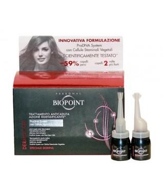 DERMOCARE Serumas nuo plaukų slinkimo ampulėse moterims 12X6ml