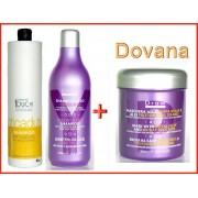 PERSONAL TOUCH Hairtherapy -  šampūnas nuo plaukų slinkimo 1000 ml + DRAW plaukų šampūnas + DOVANA - DRAW plaukų kaukė (Dovana Nr3)