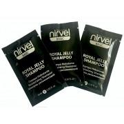Kelioninis: Nirvel profesionalus drėkinamasis šampūnas su bičių pieneliu  3X 9 ml