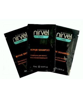 Kelioninis: Nirvel profesionalus atkuriamasis plaukų šampūnas 9 ml X 3 vnt