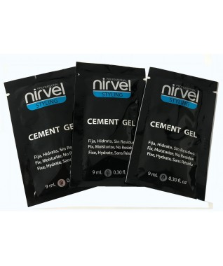 Kelioninis: Nirvel profesionalus itin stiprios fiksacijos plaukų formavimo gelis 9 ml X 3 vnt