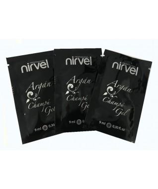 Kelioninis: Nirvel profesionalus šampūnas su argano aliejumi  9 ml X 3 vnt