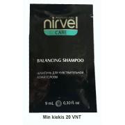 Kelioninis: Nirvel profesionalus balansuojamasis šampūnas jautriai galvos odai 9 ml
