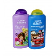 """Disney Cars"" Šampūnas 250 ml +  DISNEY FAIRIES dušo žele 250 ml"