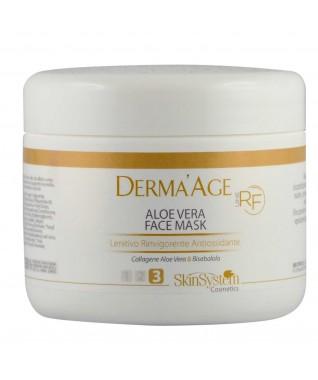 Derma'Age RF Veido kaukė su alavijų sultimis raminamoji, gaivinamoji, antioksidantinė 250 ml