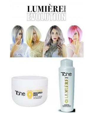 Lumière Express Kaukė ir šampūnas apsaugantys dažytų plaukų spalvą  300 ml + 500 ml