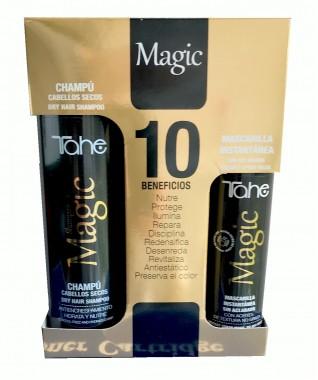 Magic BX rinkinys: Intensyvaus poveikio purškiama kaukė 125 + Drėkinamasis plaukų šampūnas 300 ml