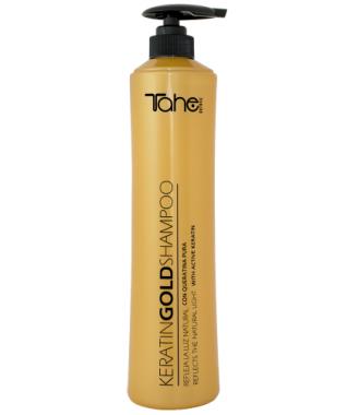 Gold plaukų šampūnas su aktyviuoju keratinu ir skystuoju auksu 800 ml. atvyksta 9-15 darbo dienų