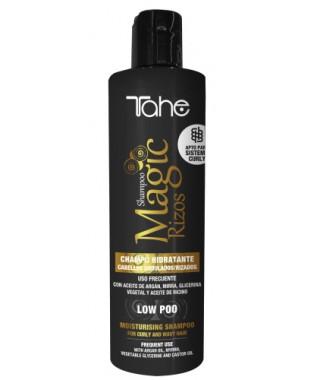 MAGIC RIZOS-CURLY- magiškas drėkinantis garbanotų plaukų šampūnas LOW POO 300 ml
