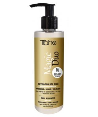 MAGIC DUO- magiškas dvigubo poveikio garbanų aktyvatorius ir serumas plaukams 200 ml