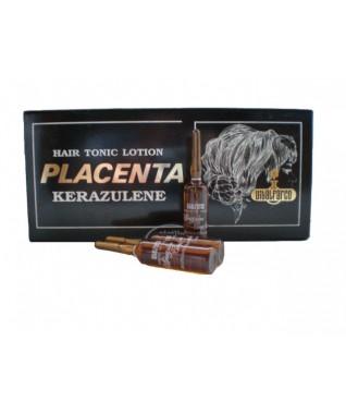 PLACENTA KERAZULENE - gydomasis losjonas nuo plaukų slinkimo (12 ampulių X 10 ml)